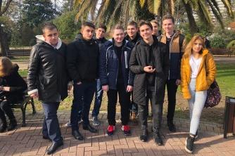 Участие студентов в городском квесте