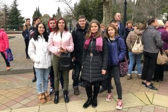 Участие студентов СГЭК в акции «10000 шагов к жизни»